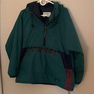 Vintage L. L. Bean jacket with drawstring